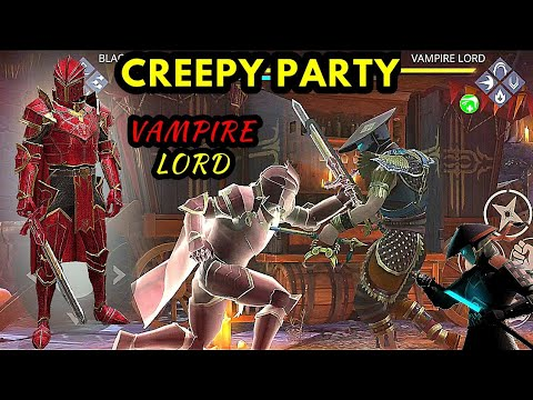 Shadow Fight 3》creepy Party Event | How To Beat Vampire Lord