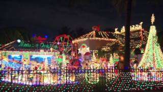 One home, 175,000 Christmas lights