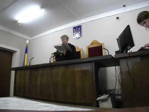 Оголошення рішення за позовом про стягнення заробітної плати за вимушений прогул Суддя Слюсар