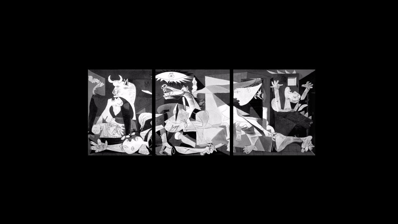 Porque Picasso Pintou Guernica Youtube