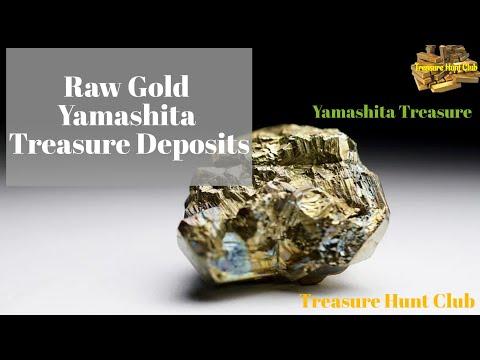 Raw Gold Yamashita Treasure Deposits