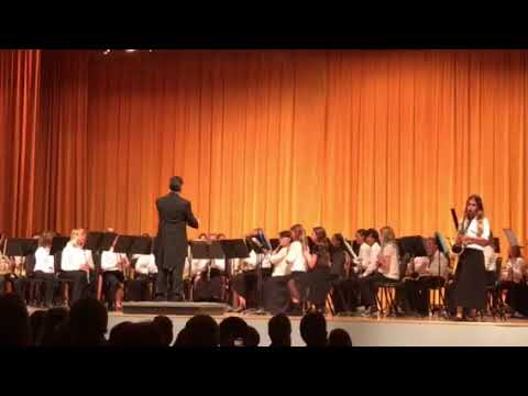 Cabrillo Middle School Beginning Band 2018-Havana