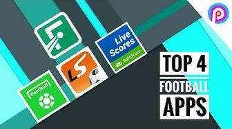 Top 4 Football Apps | Sofascore | Fotmob | All Football | Live Scores
