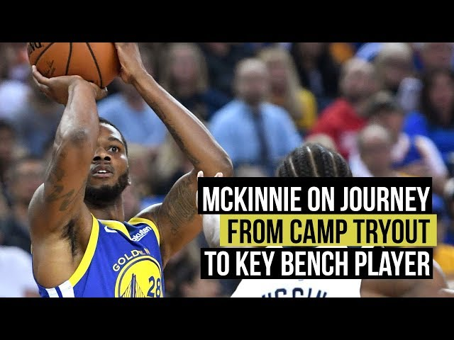 Alfonzo McKinnie on journey from camp tryout to key bench player