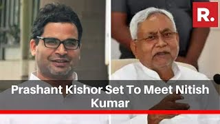 Prashant Kishor Set To Meet Bihar Cm Nitish Kumar After Slamming Jduand39s Support To Citizenship Act
