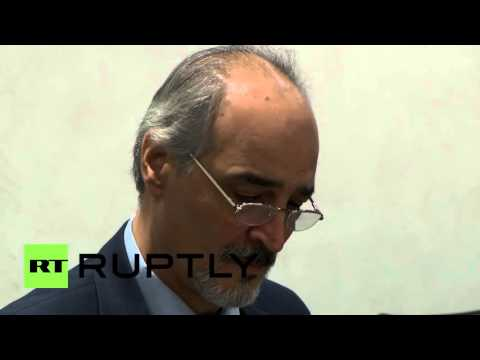 Switzerland: UN's de Mistura meets Syrian govt delegation at peace talks
