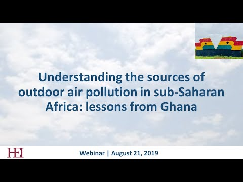 Understanding the sources of outdoor air pollution in Sub-Saharan Africa: lessons from Ghana