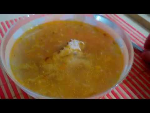 Суп картофельный в мультиварке с курицей