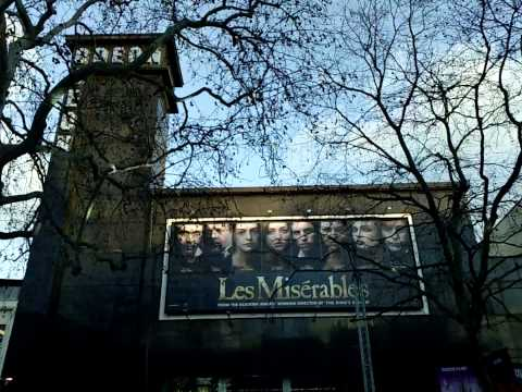 Before the Les Misérables film premiere at Leicester Square in London 2