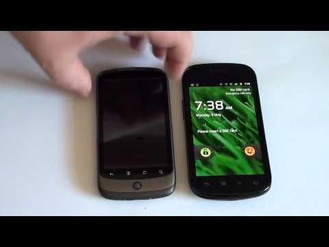 Vergleich: Google Nexus S und Nexus One - Android