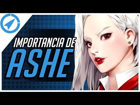 LA IMPORTANCIA DE ASHE - OVERWATCH ROCKETLIVE TIPS Y GUIA DE ASHE