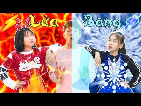 Lửa Băng Đại Chiến | Đồ Ăn Nóng Lạnh ♥ Min Min TV Minh Khoa