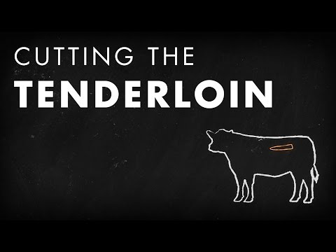 Beef Butchery - Cutting the Tenderloin