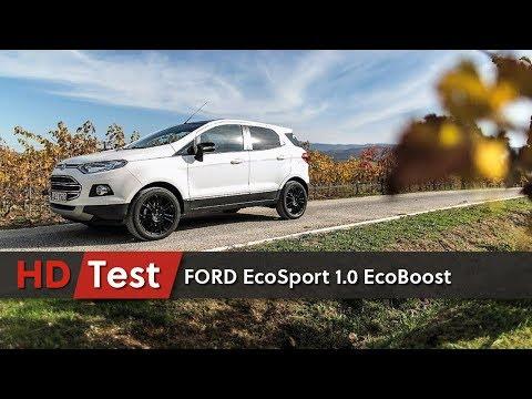 Ford Ecosport Titanium S 1.0 EcoBoost 125 CV   | HDtest