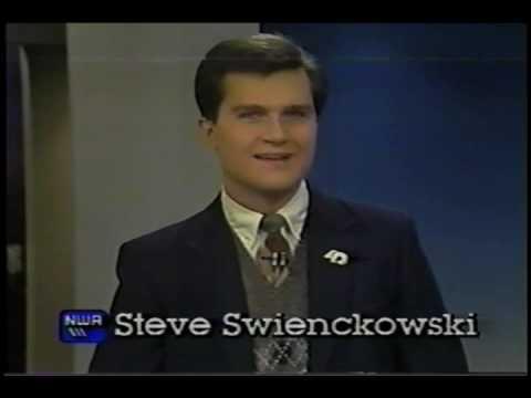 Steve Swienckowski Hilites & Bloopers: KTXL-TV, Sacramento, 1987