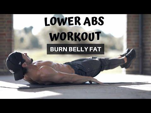 LOWER ABS WORKOUT | BURN BELLY FAT | Rowan Row