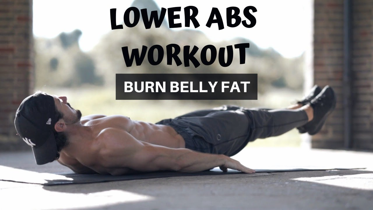 LOWER ABS WORKOUT | BURN BELLY FAT |  Rowan Row