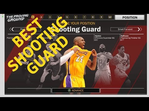 NBA 2K18 MOST OVERPOWERED SHOOTING GUARD BUILD!!!