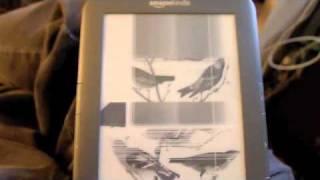 Defective Kindle screen problem - horrible thumbnail