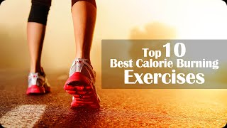 Top 10 Exercises - Top 10 Best Calorie Burning Exercises