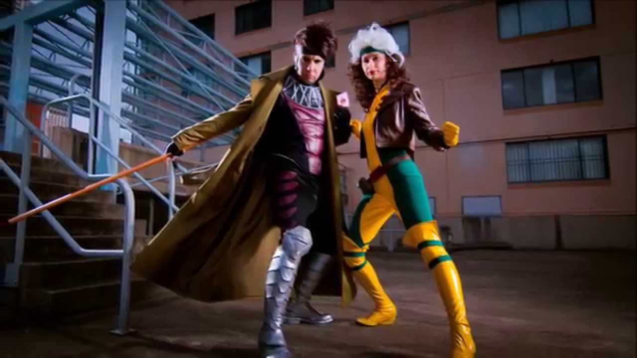 sc 1 st  YouTube & Cosplay Construction Compilation - Rogue u0026 Gambit X-Men - YouTube