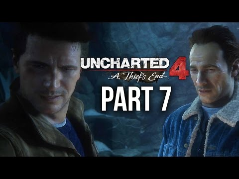Uncharted 4 Gameplay Walkthrough Part 7 - DEATHTRAP DEATHTRAP DEATHTRAP (Chapter 8)