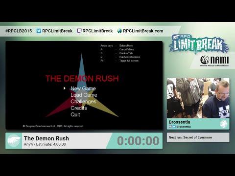 The Demon Rush by Brossentia (RPG Limit Break 2015 Part 23)