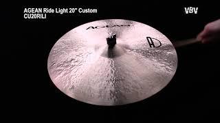 """Ride Light 20"""" Custom vidéo"""