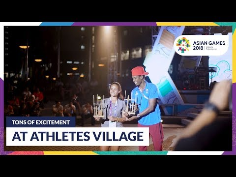 Tons Of Excitement At Athletes Village 2018