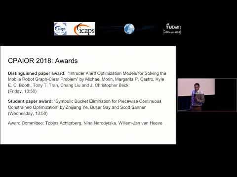 ICAPS 2018: Matthijs Spaan, Willem-Jan Van Hoeve And Gabriele Röger, ICAPS 2018 Opening