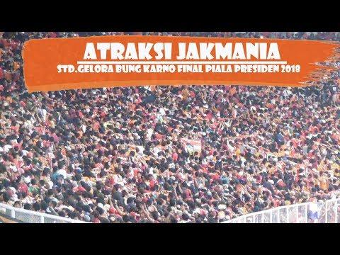 POWER OF JAK MANIA | ATRAKSI HEBAT JAK MANIA DI FINAL PIALA PRESIDEN STD GELORA BUNG KARNO