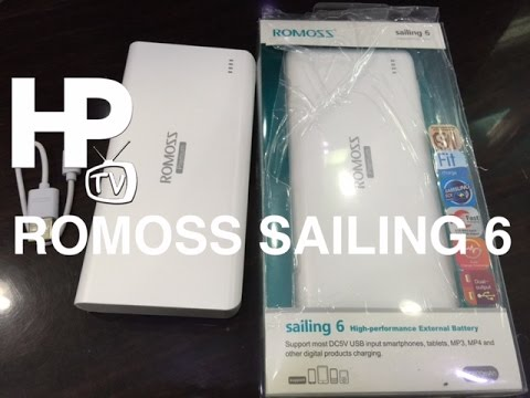 Romoss Sailing 6 Power Bank Unboxing Review Makati Manila Philippines by HourPhilippines.com