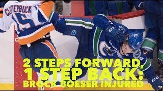 Vancouver Canucks: 2 steps forward, one big step back - Brock Boeser injured