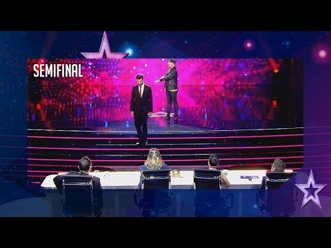 El carterista Shado también roba los pensamientos | Semifinal 5 | Got Talent España 2018