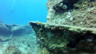 St. Thomas Casandra Wreck  - Carnival Cruise Excursion