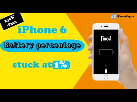 battery percentage iphone iphone 6 battery percentage stuck at 1 or 100 here s 10232