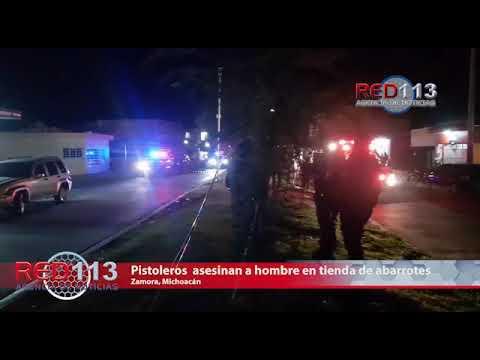 VIDEO Pistoleros irrumpen en tienda de abarrotes y dan muerte a un hombre