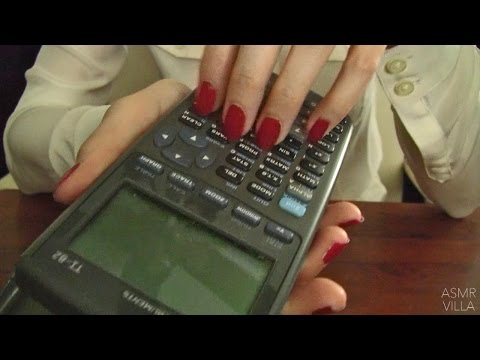 ASMR * Tapping & Scratching * Theme: Office Sounds * Fast Tapping * No Talking * ASMRVilla