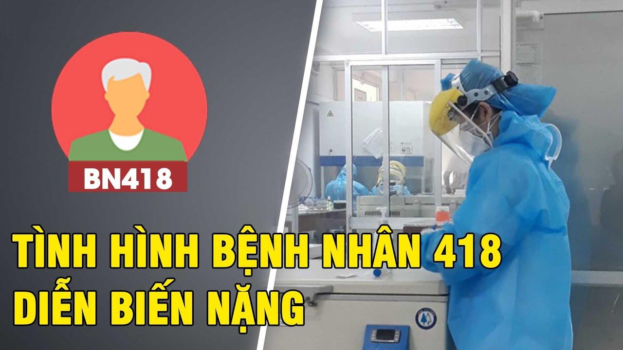 Bệnh nhân Covid-19 thứ 418 ở Đà Nẵng biến chứng suy hô hấp, suy tim