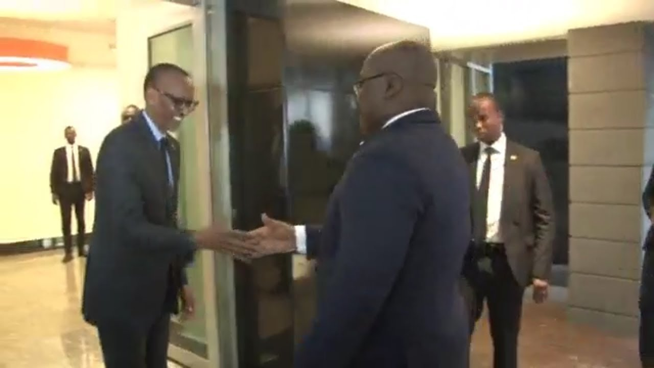AU RWANDA, PR FÉLIX T. DONNE SA VISION POUR L'AFRIQUE