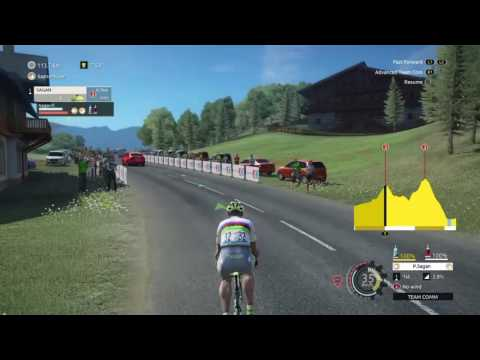Tour De France 2016 - PS4 - Stage 17 [ Welcome to Alps] - FIRST DAY IN ALPS