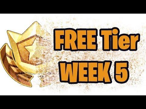 Free Tier Season 4 WEEK 5 Free Battle Pass Tier (BLOCKBUSTER #5) - Fortnite Battle Royale