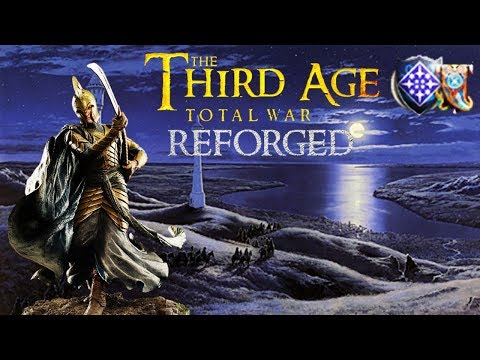 BATTLE FOR LINDON - Lord of the Rings - Third Age Total War Reforged Gameplay