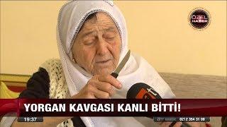 67 yaşındaki kadın eşini yorgan yüzünden bıçakladı! - 28 Ağustos 2017