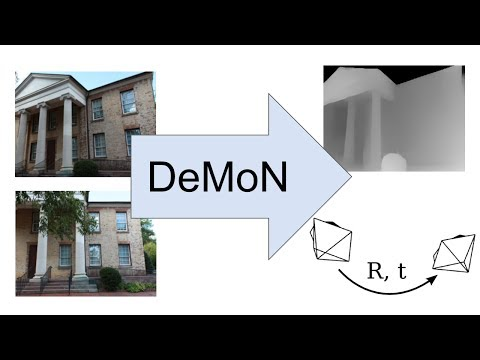 DeMoN: Depth and Motion Network for Learning Monocular Stereo