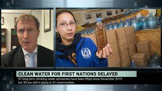 Ottawa admits it will miss target to provide clean drinking water in First Nations