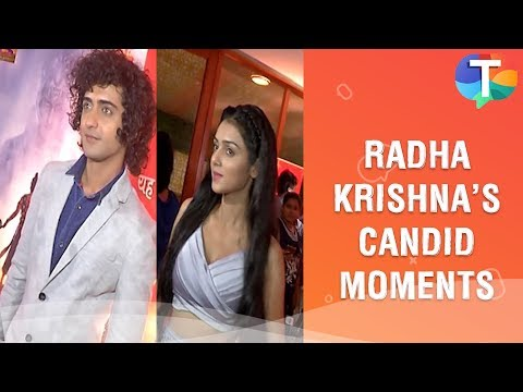 Glamorous and candid moments of Mallika Singh and Sumedh Mudgalkar aka Radha Krishna