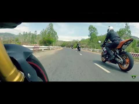 BikerBoyz - Cam Ranh & Da Lat (flycam) - Tour 2016 (Full)
