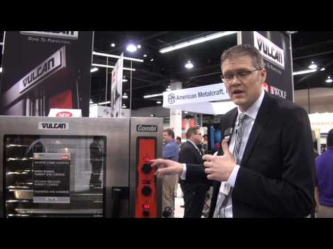 Vulcan ABC Commercial Combi Oven Demonstration At NAFEM 2015 - Vulcan Equipment