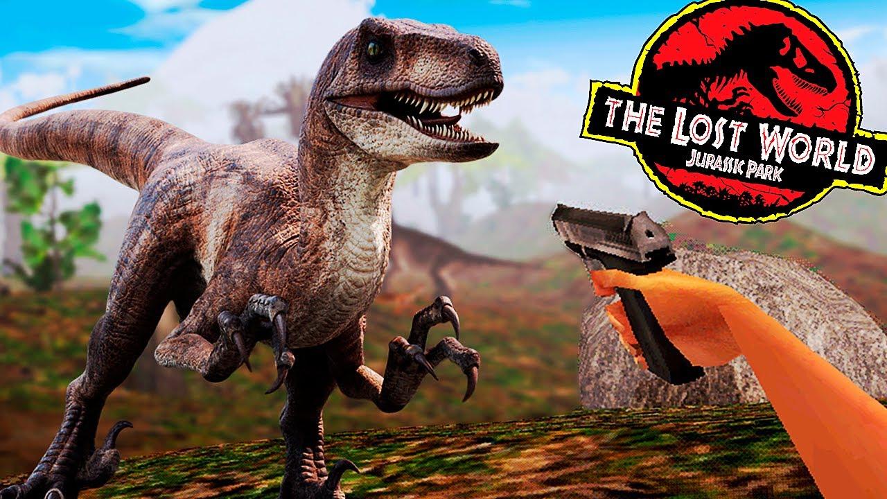 Sobrevivência na Iha Sorna (Sítio B), Dinossauros Por Toda Parte | Jurassic Park: Trespasser | PT/BR